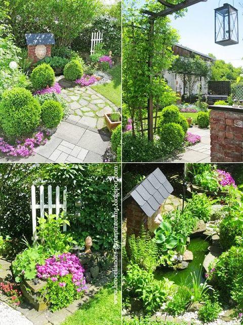 Broceliandes Gartenträume ein Cottage Garten im
