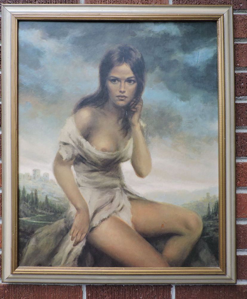 Old hq nude women painting