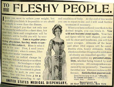 """Are you one of the """"fleshy people""""?"""