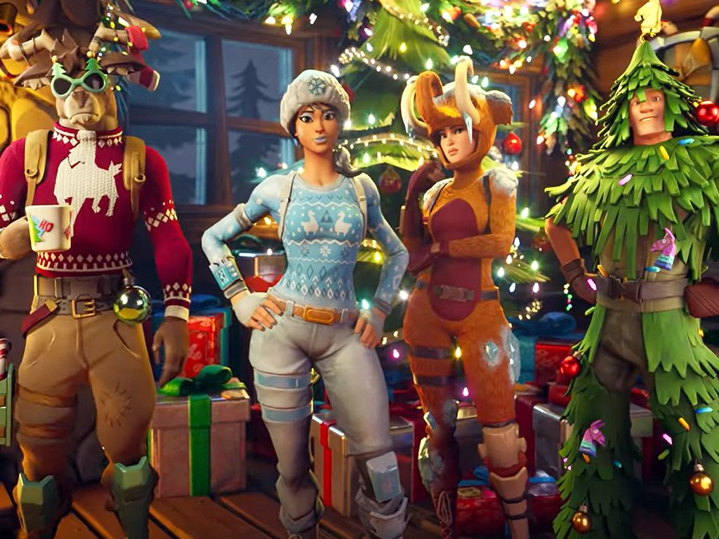 Don T Forget To Claim Your 14 Free Christmas Items In The Fortnite Video Game S Winterfest Event Winterfest Fortnite Christmas Items