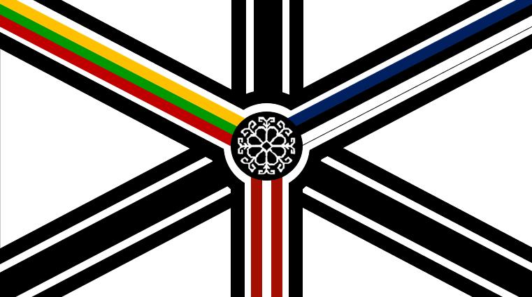United Baltic flag. A union of Estonia, Latvia and Lithuania. | Flag art,  Unique flags, Flag design