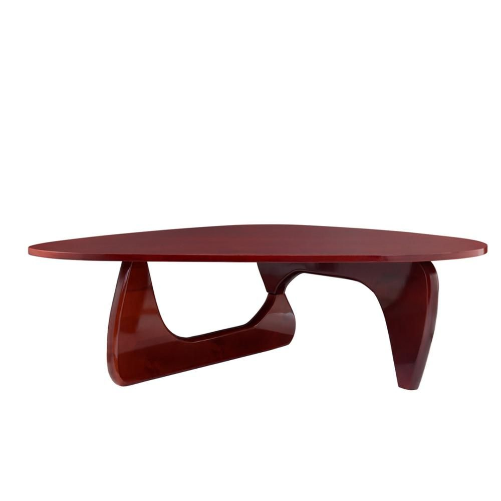 Replica Isamu Noguchi Coffee Table Wood Top Noguchi Coffee