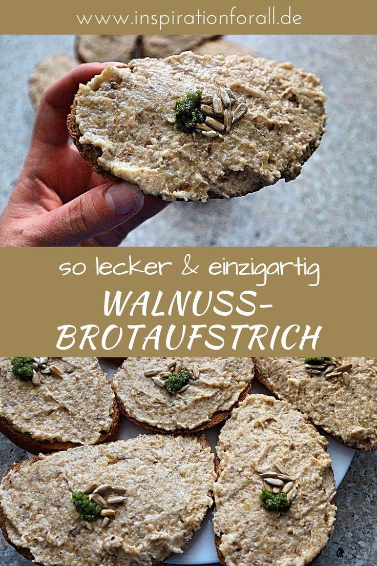 Walnuss-Brotaufstrich: einfaches und schnelles Rezept mit Foto