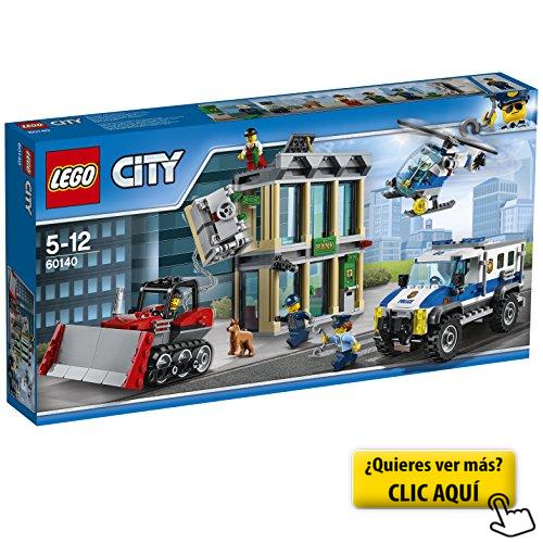 Lego City Huida Con Bulldózer 60140 Lego Lego City Police Lego City Sets Lego City
