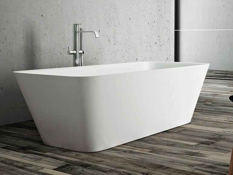 Vasca da bagno centro stanza in Aquatek EQUAL Collezione Disenia By ...