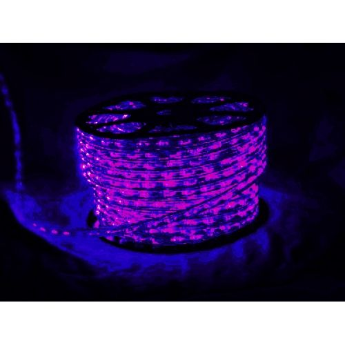 Led rope lighting rolls 2 wire round 120v black ultraviolet 405nm led rope lighting rolls 2 wire round 120v black ultraviolet 405nm aloadofball
