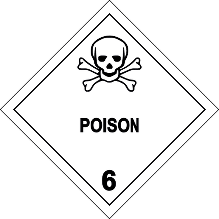 What Are Poison Warning Signs Safety Signs And Symbols Poison Sign Signs