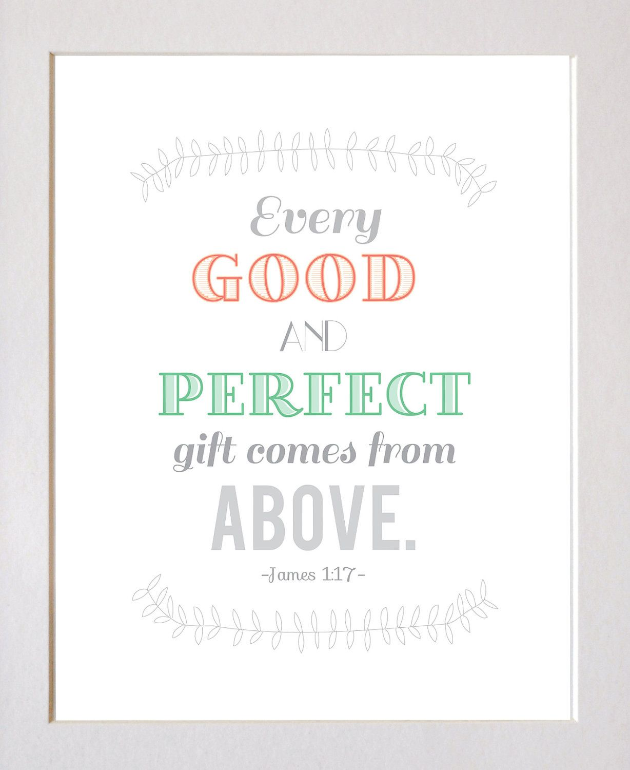 James 1:17...would be cute to incorporate this bible verse | bible ...