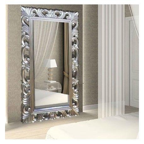 Téléviseur Miroir 32 pouces bois argenté    wwwdeco-prive