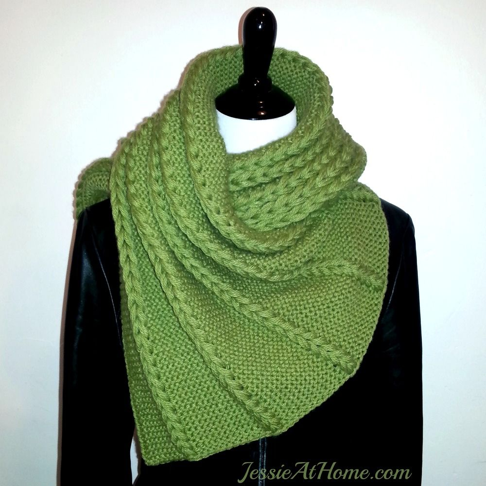 Dropped And Found Shawl By Jessie Rayot - Free Knitted Pattern ...