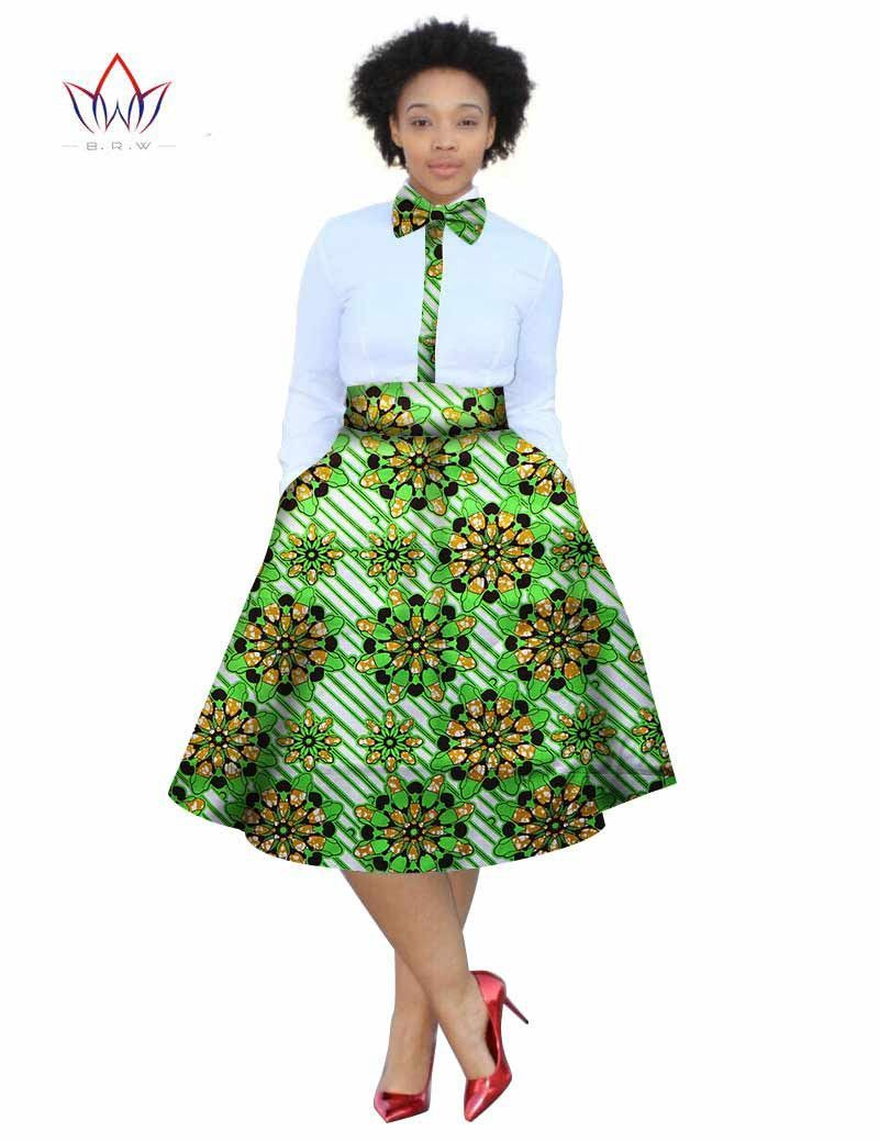 African Print Skirts Plus Size Dresses