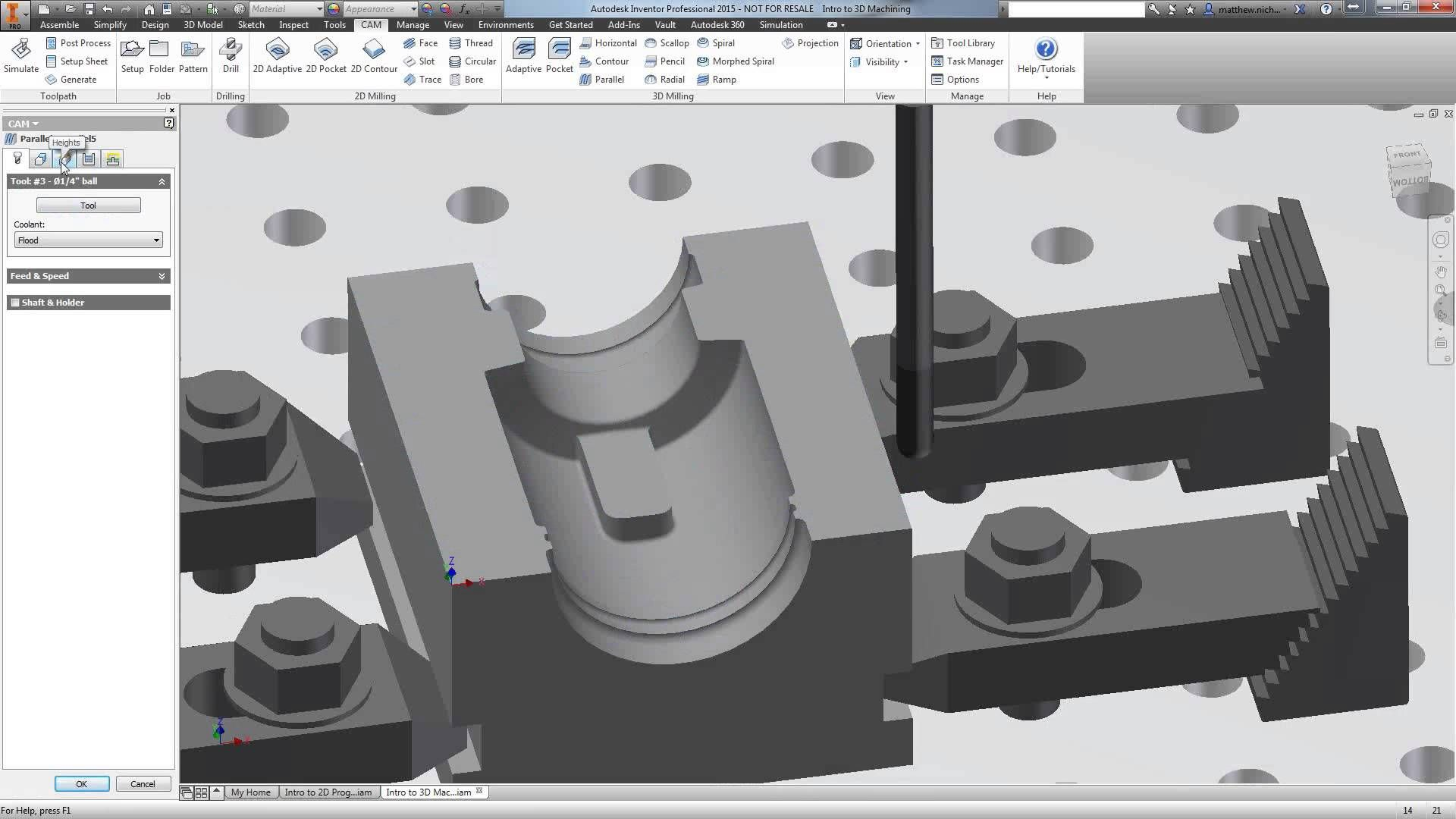 Machining Made Easy with Autodesk® Inventor® HSM | CAD