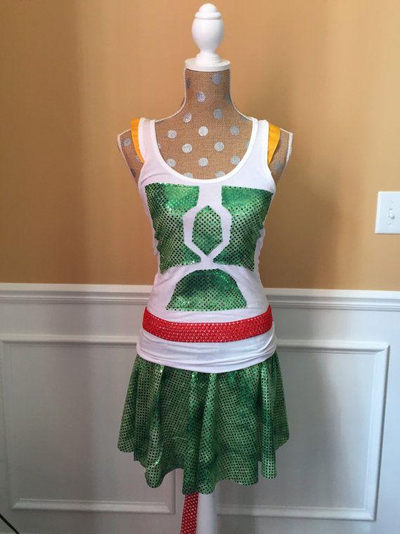 Bounty Hunter Inspired Running/Athletic Skirt and Tank top