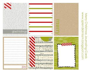 Free Project Life/December Daily printables