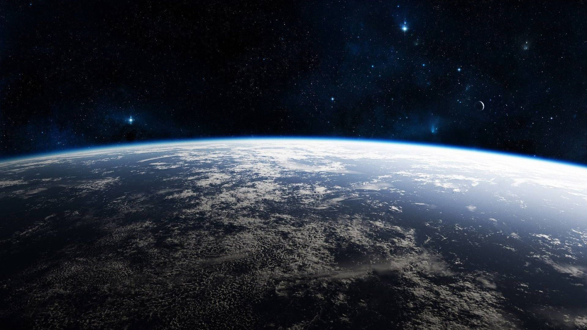Great View On Earth From Space Space Universe Scifi With