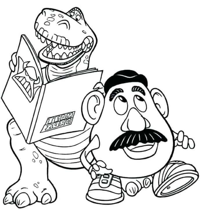 Toy Story Coloring Pages in 2020 | Toy story coloring ...