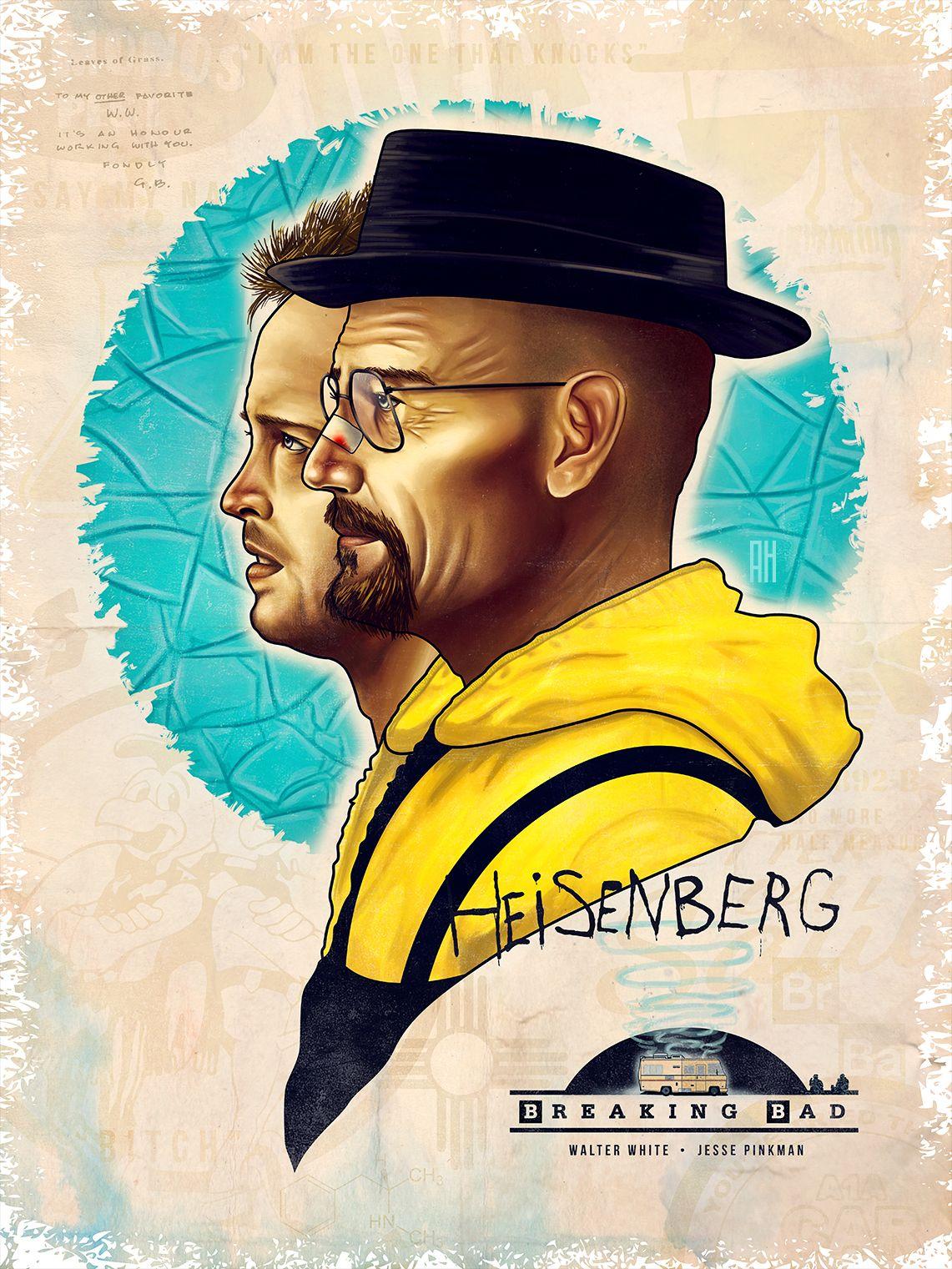 Breaking Bad Original Film Poster Alex Hess Breaking Bad
