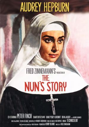 Audrey Hepburn becomes a Nun, facing lots of challenges along the way!