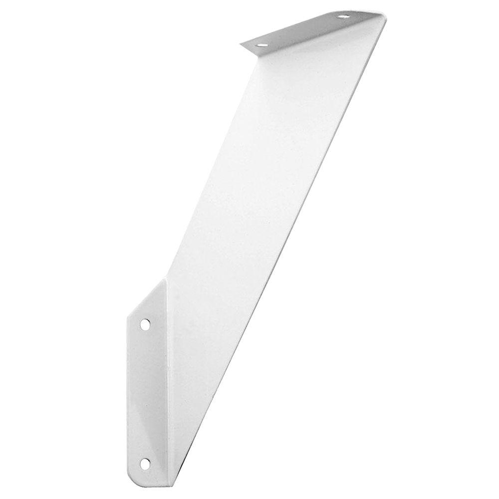 7 25 In X 7 25 In White Over Under Shelf Bracket Eb 0051 8wt At The Home Depot Shelf Brackets Shelf Styling Bedroom Shelves