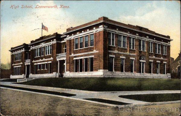 High School Leavenworth Leavenworth Kansas Kansas
