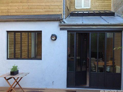 R novation d 39 une maison ami noise dans un style contemporain gr ce l 39 int gration de - Verriere jardin d hiver ...