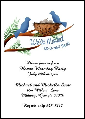 Lots Of Sample Housewarming Party Invitation Wordings To