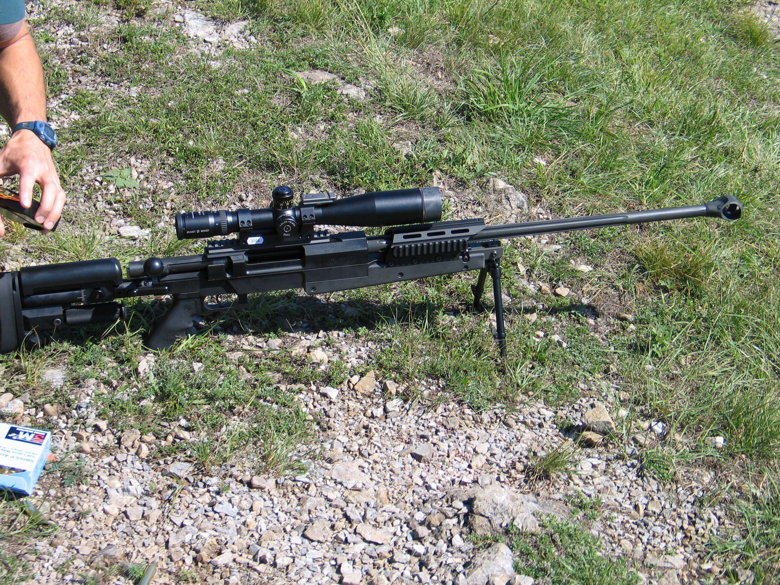 ... AIG Asymmetric Warrior ASW338LM .338 Lapua Magnum Modular Sniper Rifle