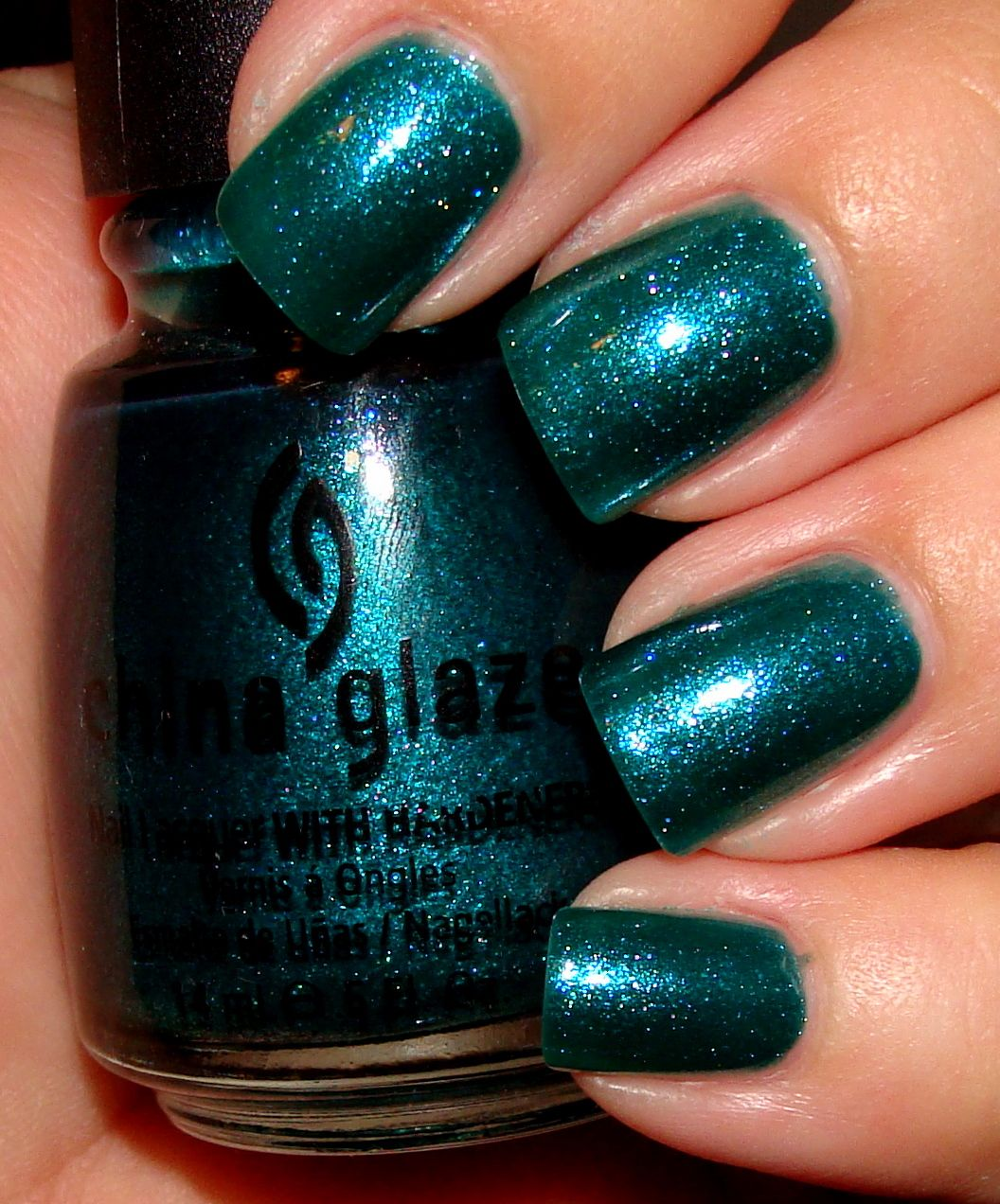 China Glaze Watermelon Rind - no label, swatched - $4.00 | finger ...
