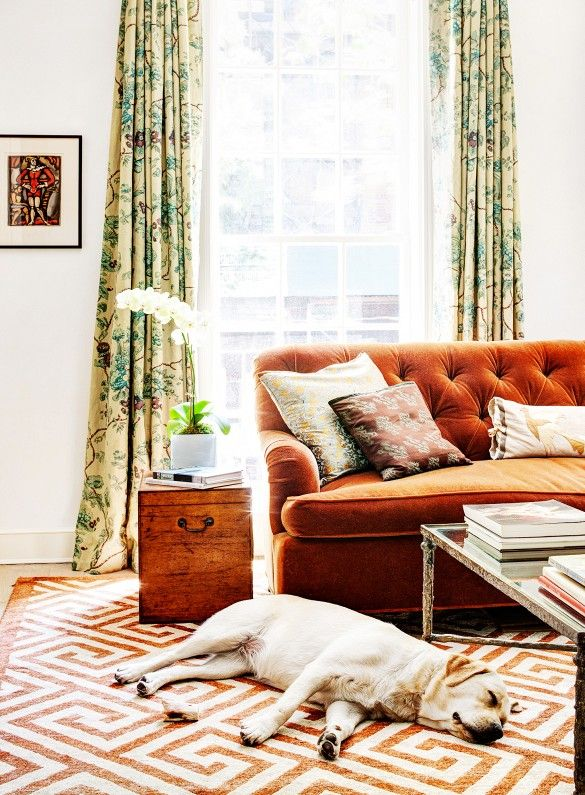 Tour the Most Elegant Townhouse You May Ever See via @domainehome