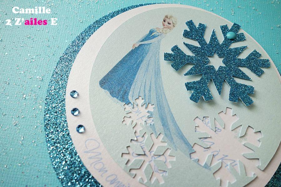 invitation ronde reine neige 2 - Reine Neige 2