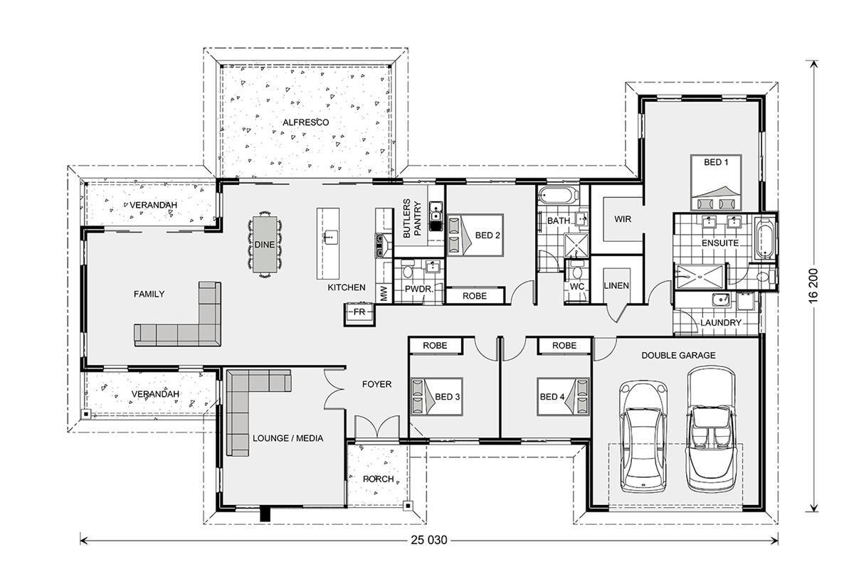 Fernbank 305 Element Estate Our Designs Gympie Builder Gj Gardner Homes Gympie New House Plans Contemporary House Plans House Blueprints