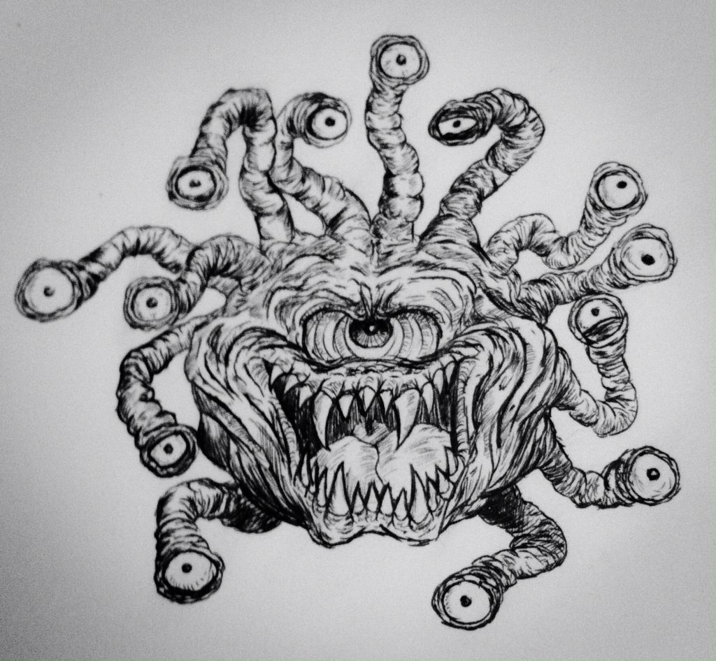 """""""The eye of the Beholder"""" Based on the D&D animated serie"""