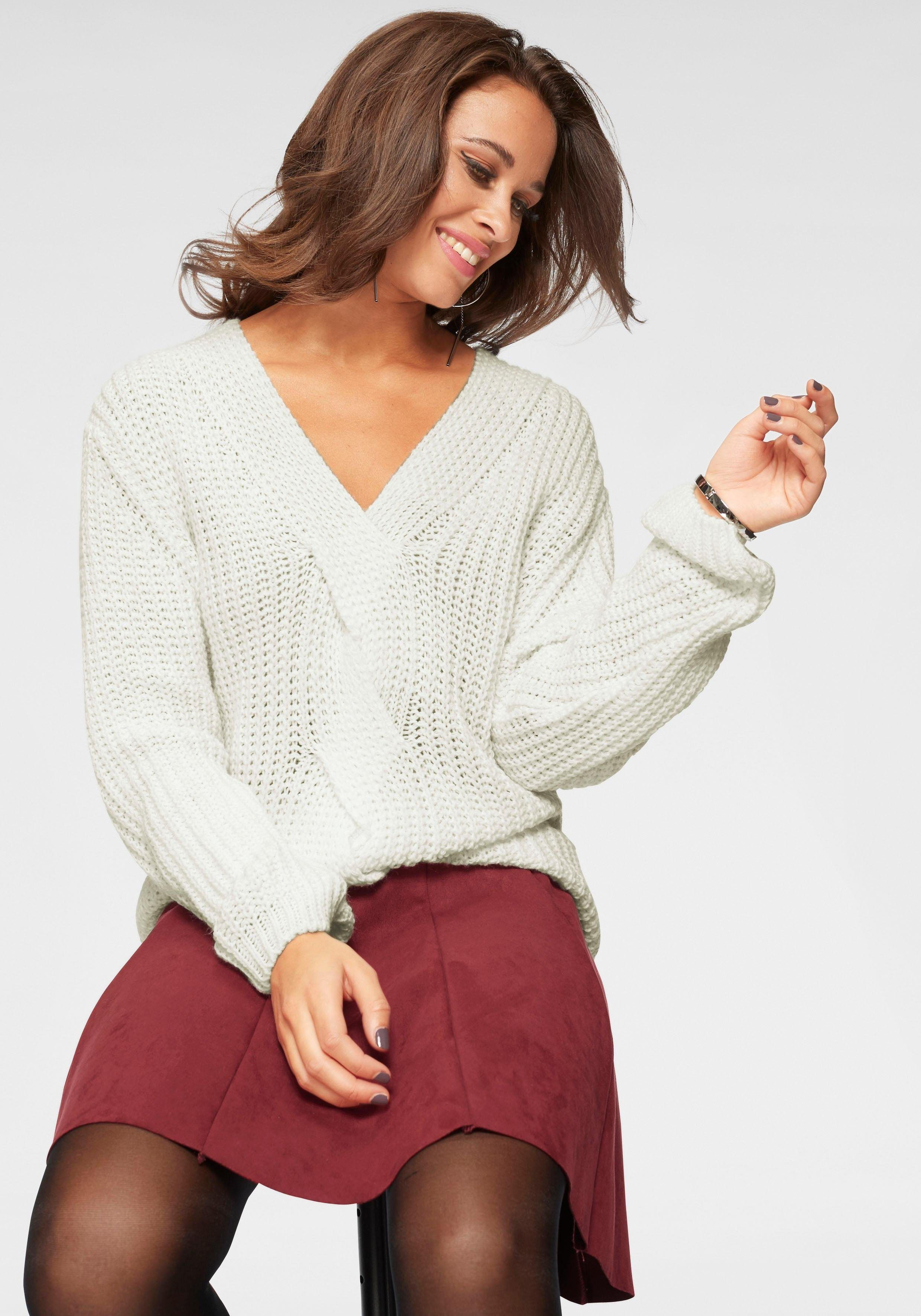 OTTO  Bekleidung  Pullover  V Ausschnitt Pullover  Damen  HaILY S   VAusschnittPullover b0341de795