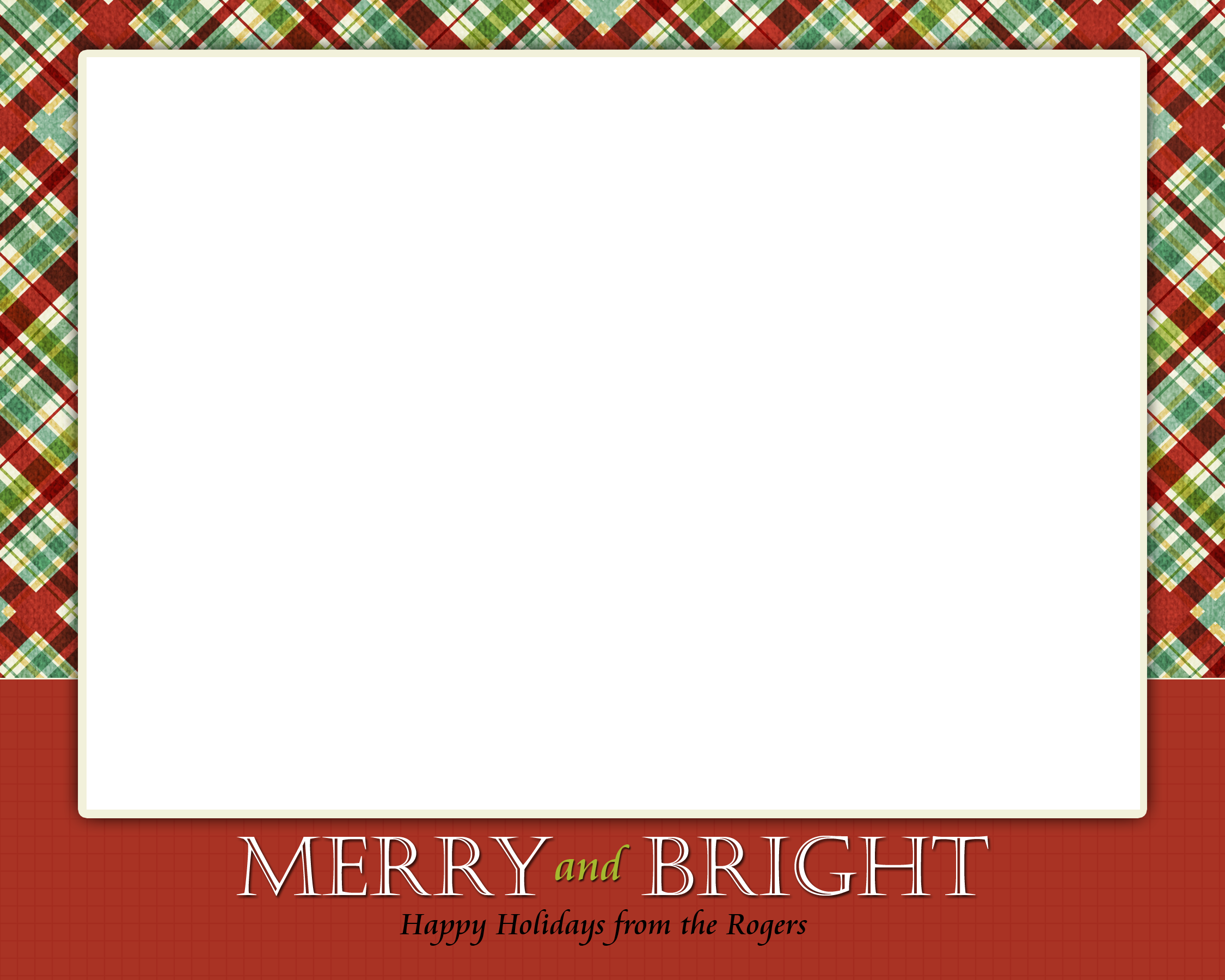 ChristmasCardTemplate simple Card Design – Holiday Card Template