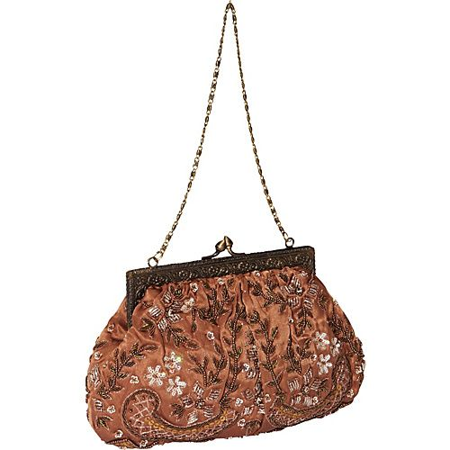 Moyna Handbags Purse Bronze - Moyna Handbags Evening Bags