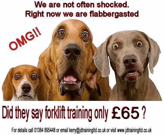 Did they say refreshers only 65 at http://ift.tt/1HvuLik #forklift #training #safety #jobsearch