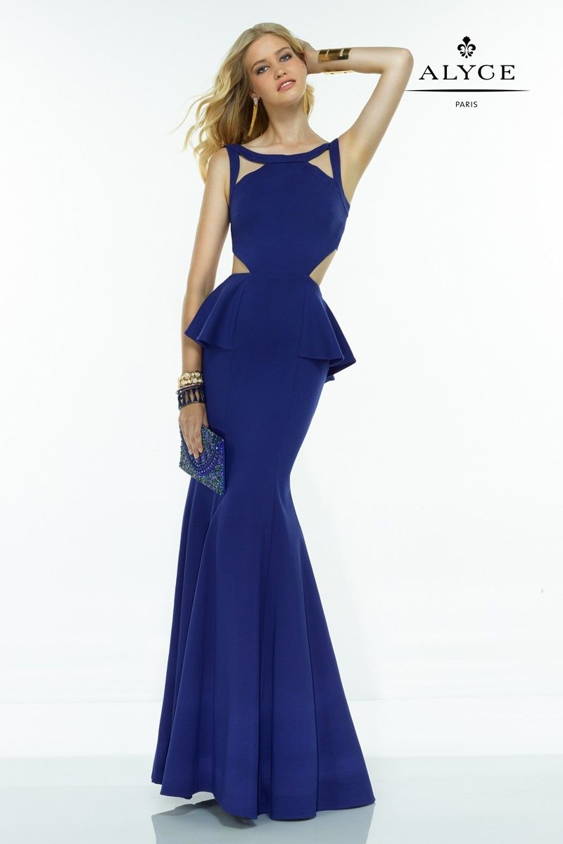 Look alluring in this stunning dress with exquisite cutouts in the ...