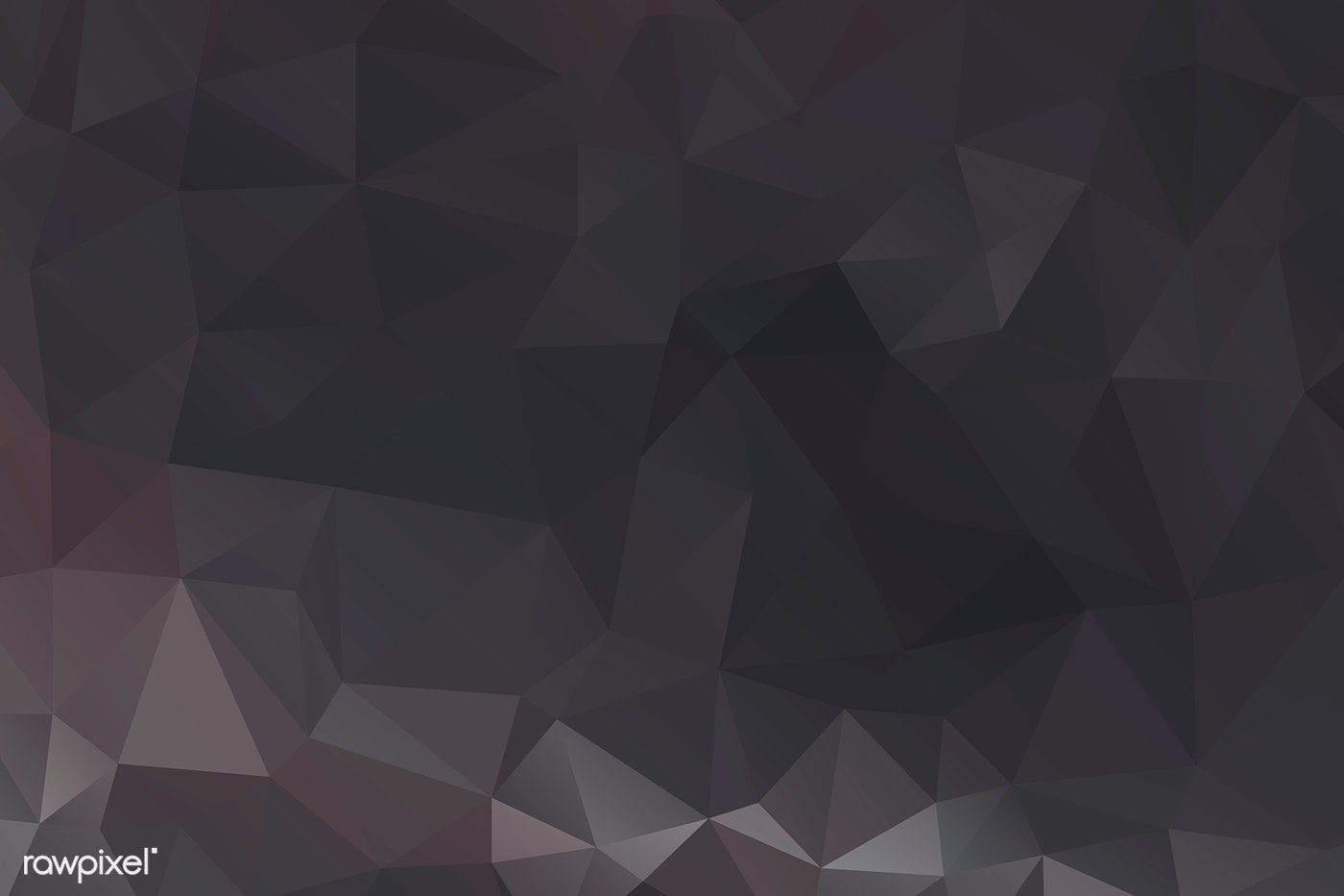 Black Polygon Abstract Background Design Free Image By Rawpixel