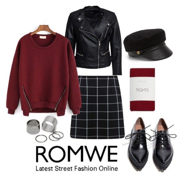 """romwe"" by gogotasha on Polyvore featuring мода, Jeffrey Campbell, Sisters Point, Miss Selfridge, maurices, Pieces и Eugenia Kim"