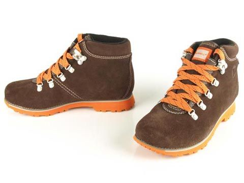 Merrell: Wilderness Origins. Finally, a good  looking and sturdy hiking shoes for kids, no Hello Kitty in these shoes :D