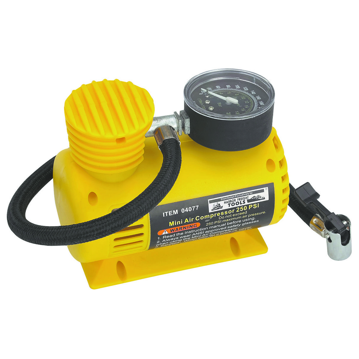 12V 150 PSI Portable Inflator Air compressor and Compact