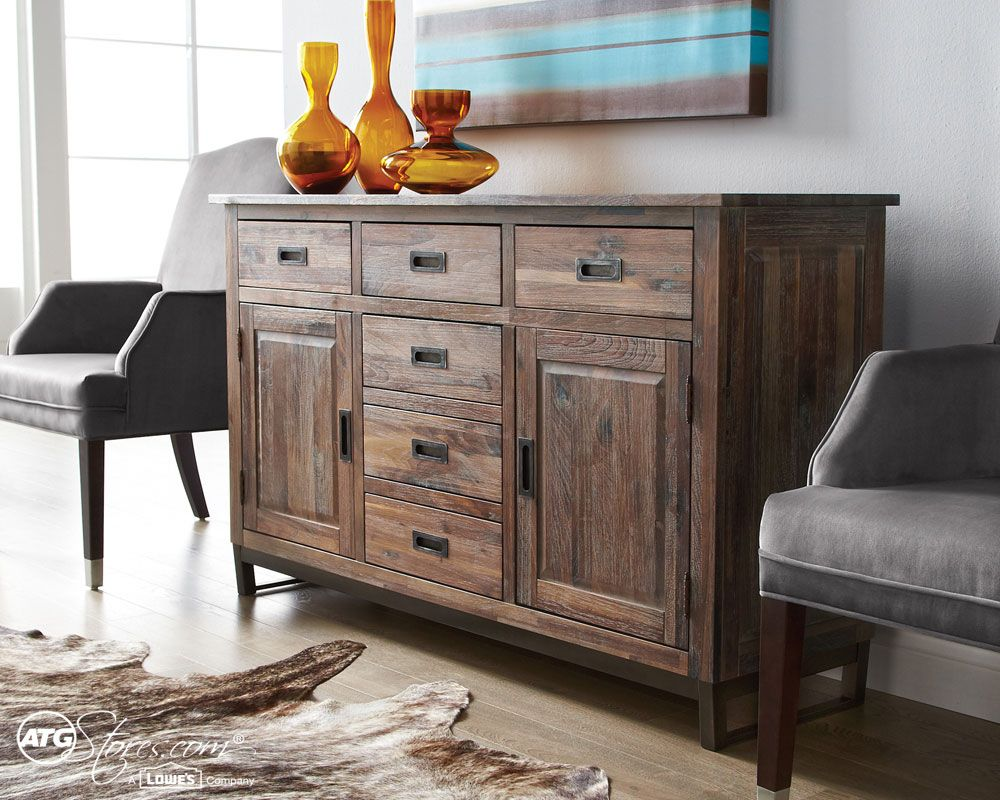 This Wooden Buffet Brings Organization With A Touch Of Style And An Area For Dcor Dining Room