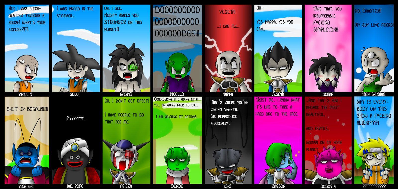 Funny Dragon Ball Z Abridged Memes : Funny dbz comics best of dragonball z abridged by