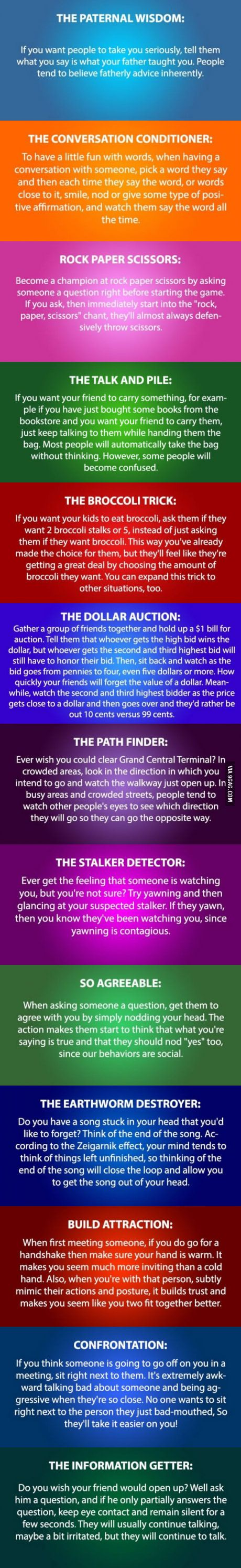 13 Cool Psychology Tricks You Need To Try More