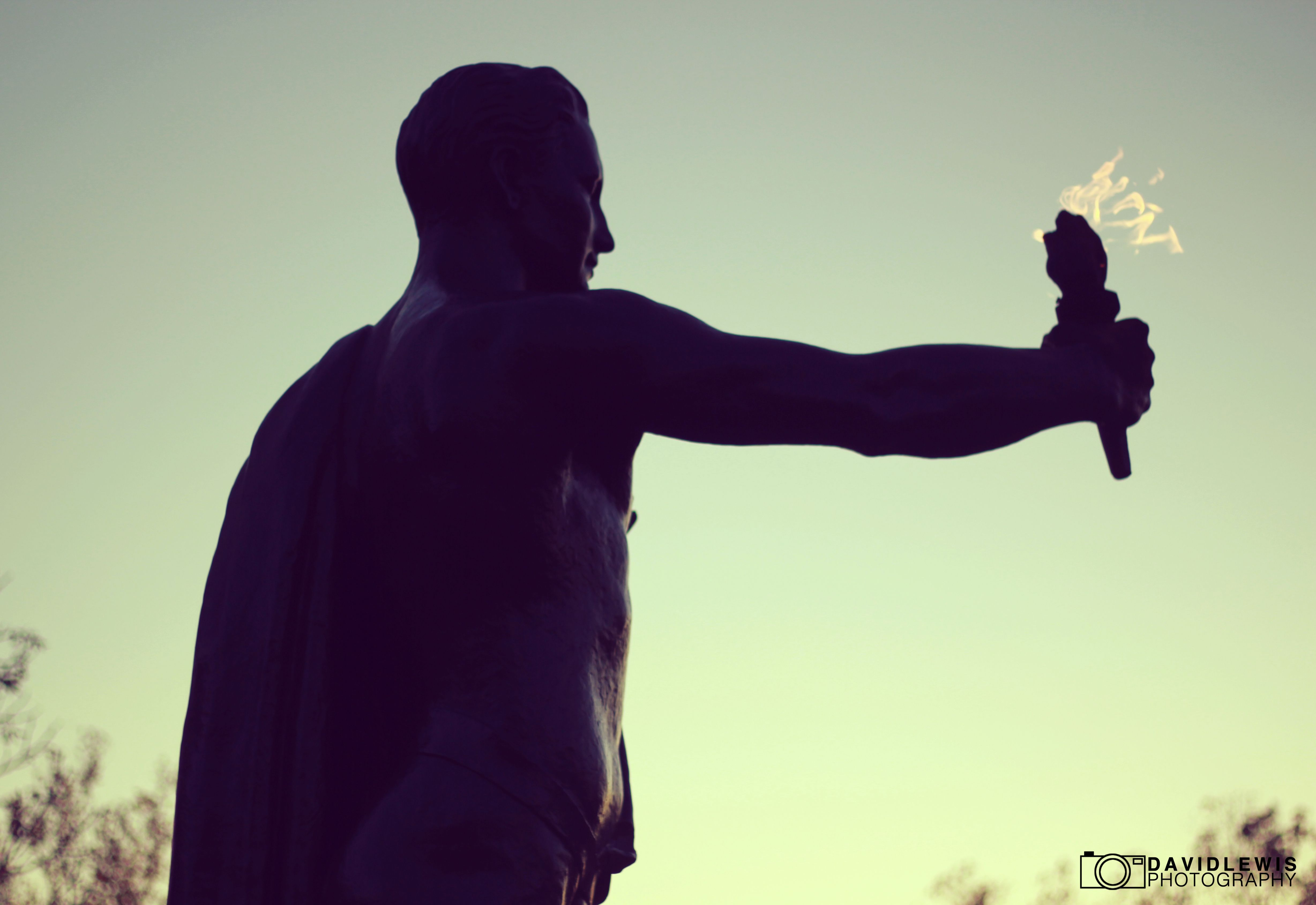 University of Tennessee Torch Bearer Statue
