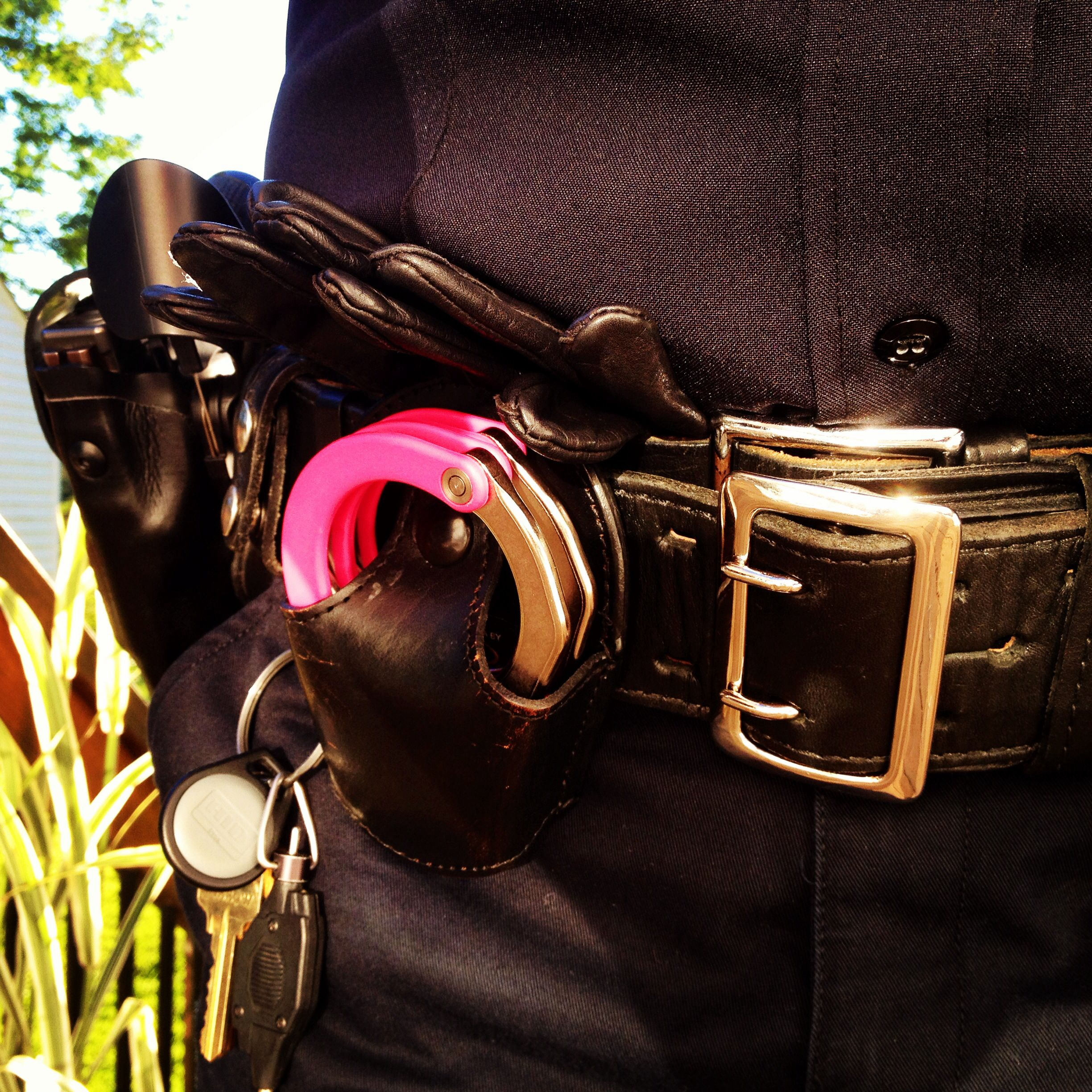 Pink Asp Handcuffs Pink Ladies Police Officer Handcuffs