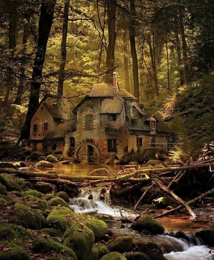 Old Mill, Black Forest, Germany #abandonedplaces