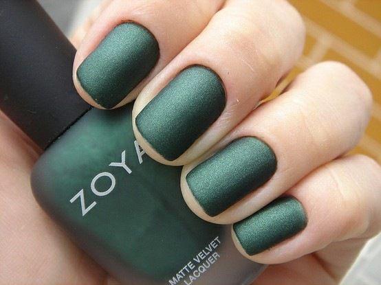 Matte nails - Zoya