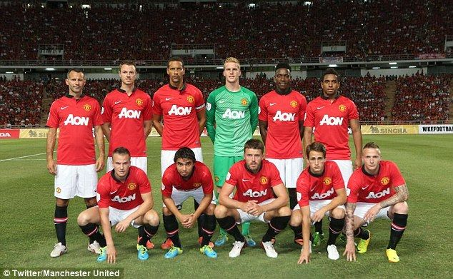 Singha All Stars 1 Manchester United 0 Moyes Slumps To Shock Defeat In First Game At Helm As Red Devils Toil In Bangkok Heat Manchester United Team Manchester United Manchester