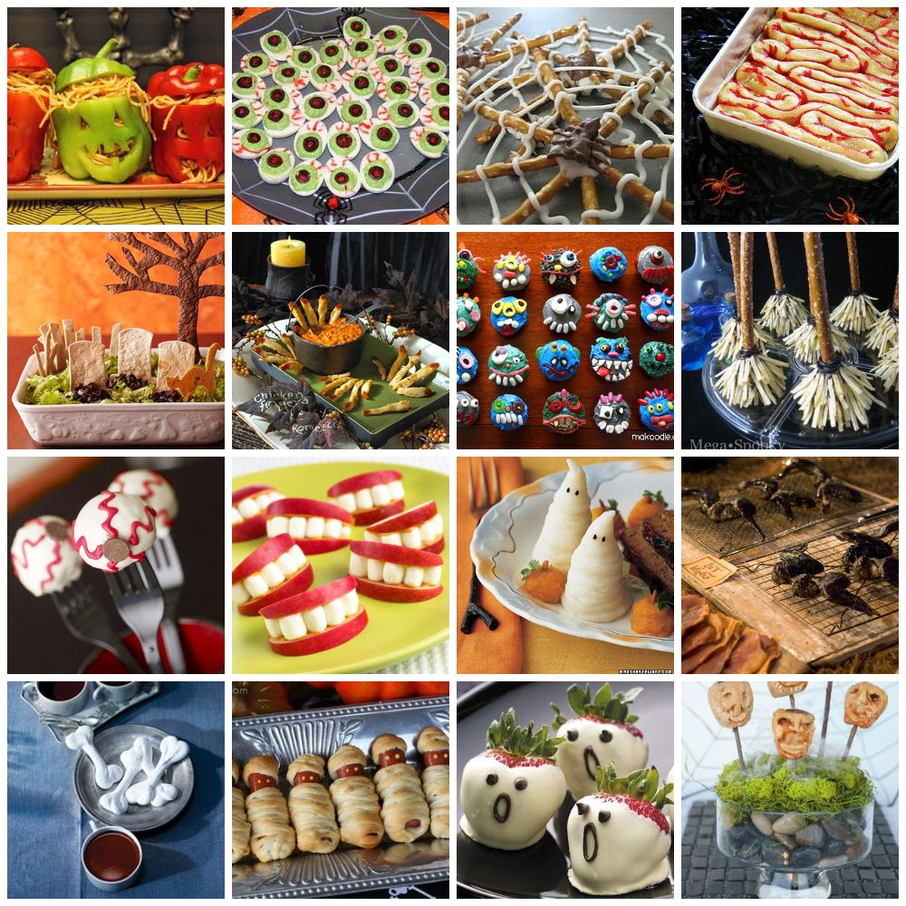 Awesome Halloween Party Dinner Ideas Part - 12: 20 Fun And Spooky Halloween Food Ideas - Halloween Is Such A Fun Time To  Get Creative With Food And Treats!